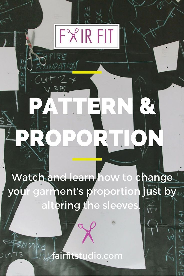 Watch and learn how to change your garment's proportion just by altering the…