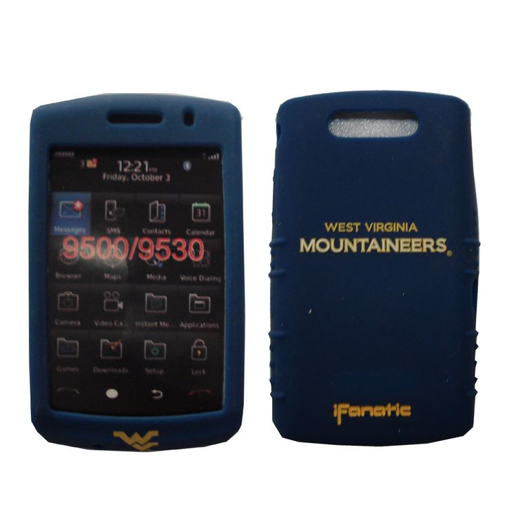 West Virginia Mountaineers Cashmere Silicone Blackberry Storm Case