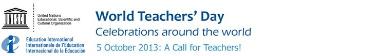 World Teachers' Day 2013