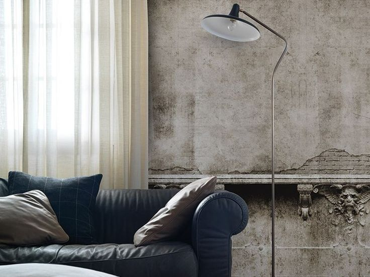 Wall effect panoramic wallpaper GARGOYLE Inkiostro Bianco Collection by Inkiostro Bianco