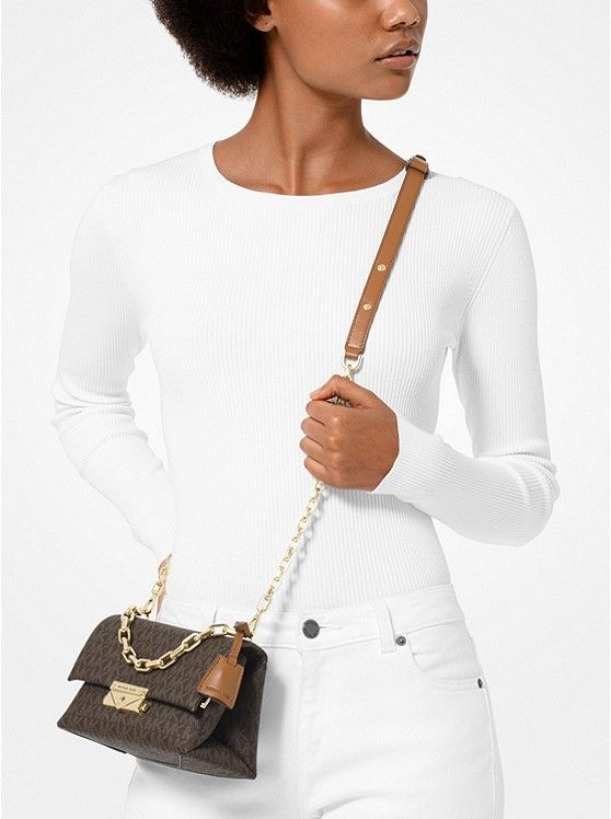 2266a44b7 MICHAEL KORS Cece Extra-Small Logo Crossbody in 2019 | Summer 2019 Best  Fashions | Handbags michael kors, Michael kors, Latest handbags
