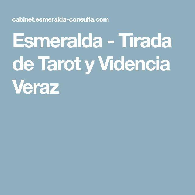 Esmeralda - Tirada de Tarot y Videncia Veraz