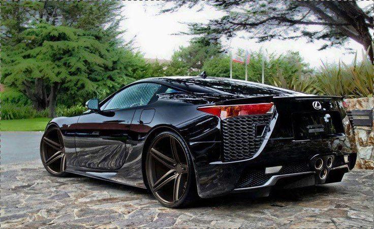 Amazing Lexus LFA