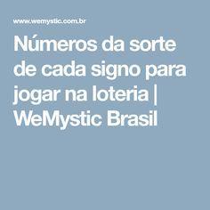 Números da sorte de cada signo para jogar na loteria   WeMystic Brasil