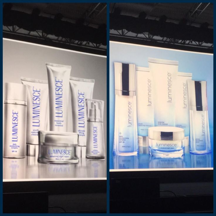 Introducing the All New look of Luminesce! Before and After... What do you think?! #LEAD15 #Jeunesse #RedefiningYouth