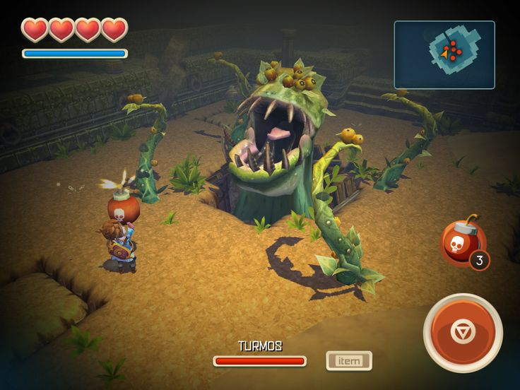 Oceanhorn Images - GameSpot