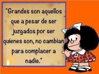 Mafalda... que grande!!