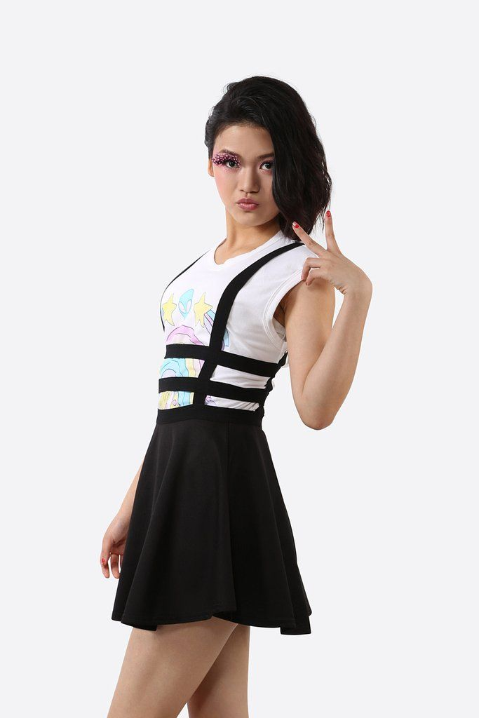 Suspender Belt Black Skirt #10-30 #1990s #app-women #jumpers #meta-filter-color-black #meta-filter-size-l #meta-filter-size-m #meta-filter-size-s