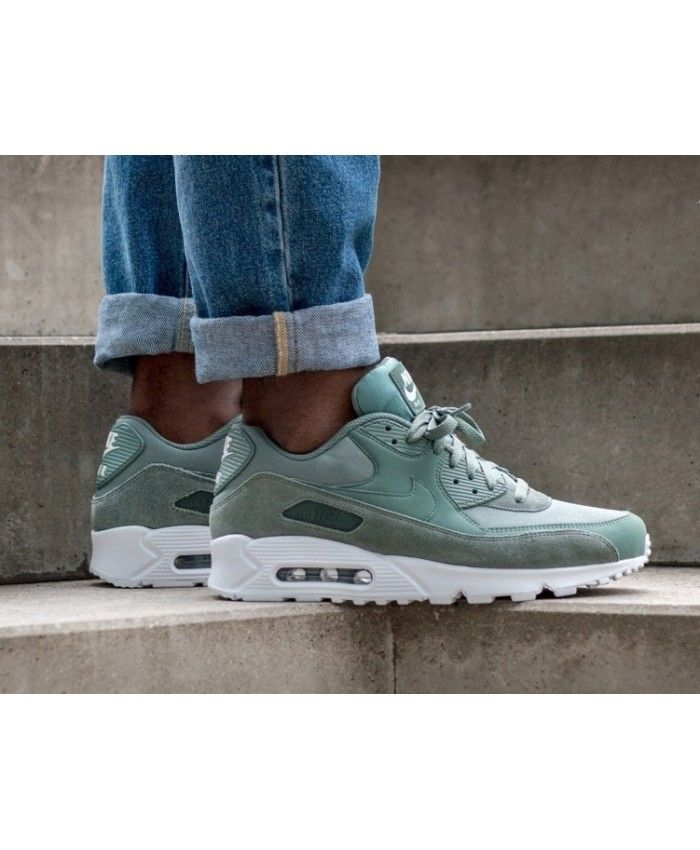 Nike Men Air Max 90 Essential Sport TurquoiseLight Bone