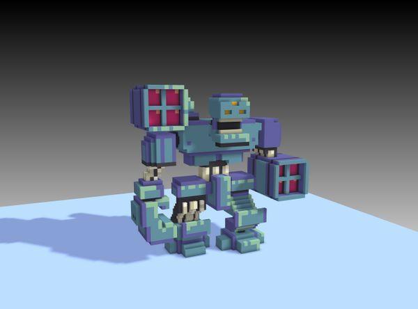 voxel robot - Google Search