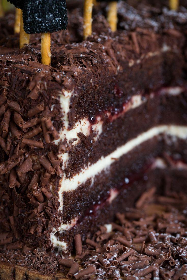 Bolo Floresta Negra   Vídeos e Receitas de Sobremesas