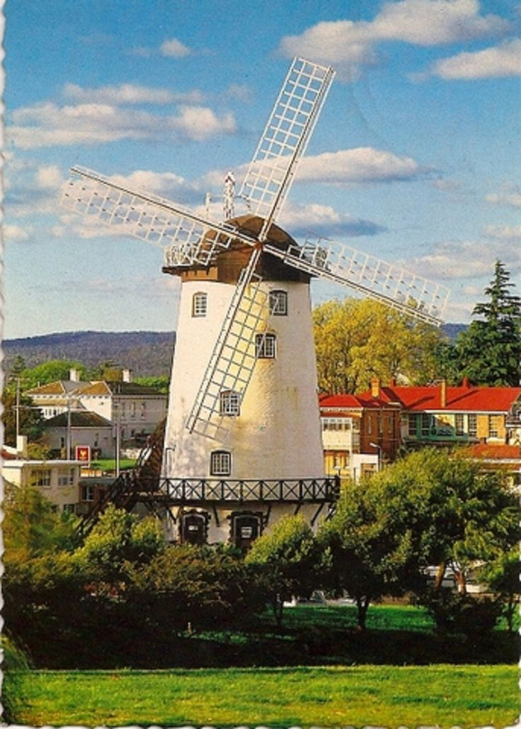#Windmill with Fantail - Australia-Tasmania-Launceston-Penny Royal http://www.roanokemyhomesweethome.com