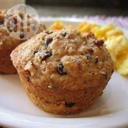 Pecan Chocolate Chip Muffins