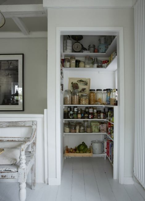 cute pantry......no visible packaging  Oyster Catcher holiday rental in Mousehole Cornwall Unique Stays 12