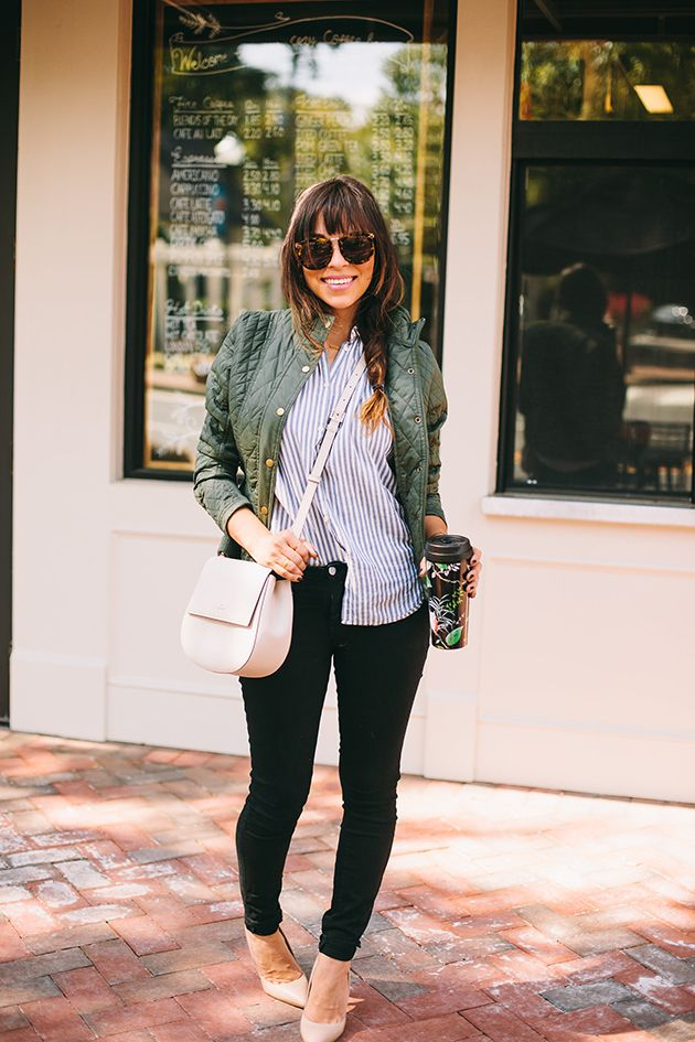 Weekend Ready Style: Striped Blouses | In Honor Of Design
