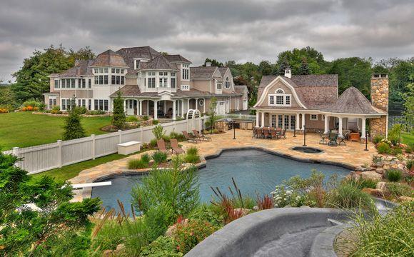 Swimmingly beautiful pool houses - Enchanted BlogEnchanted Blog