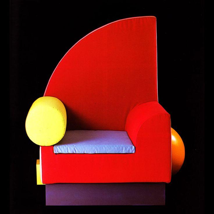 Memphis milano bel air chair chairs pinterest for Memphis milano