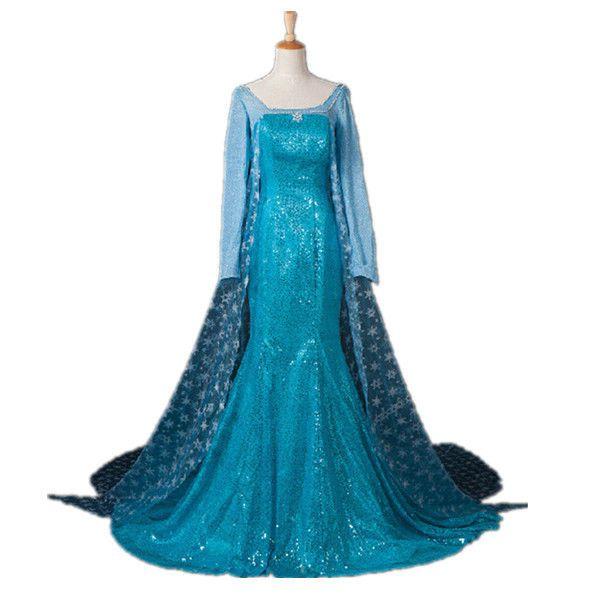 Elsa Kostüm Erwachsene Damen Eiskönigin Abendkleid Partykleid Cosplay Kostüm in Kleidung & Accessoires, Kostüme & Verkleidungen, Kostüme | eBay!