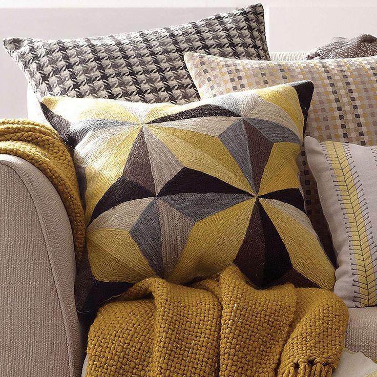 Prismatic Cushion | Dunelm