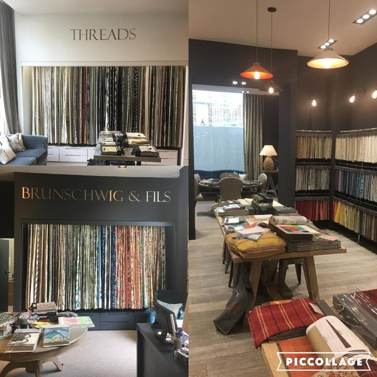The beautiful ranges of GP&J Baker, London  #threads #inspiration