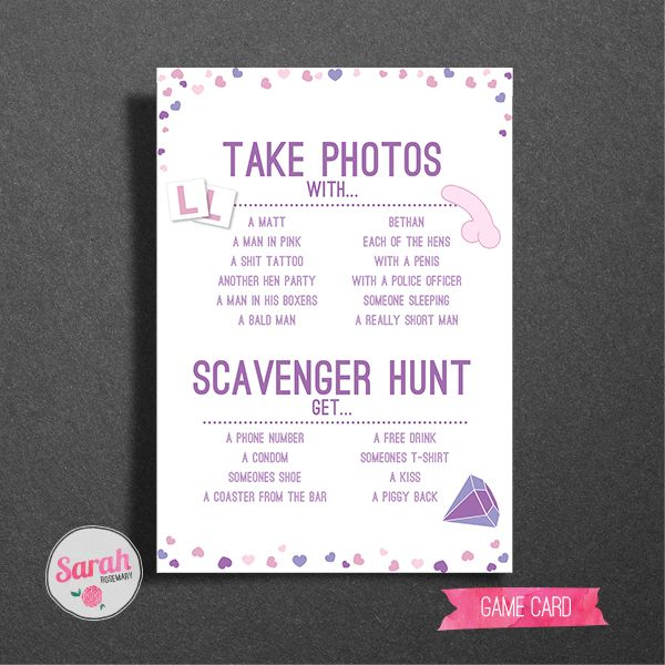Planning a Hen Do?! Take a look at these fun Hen Do Games and Info cards, perfect for a good late night giggle! They're fully customisable and a perfect keepsake from a great night out! For ten hens.