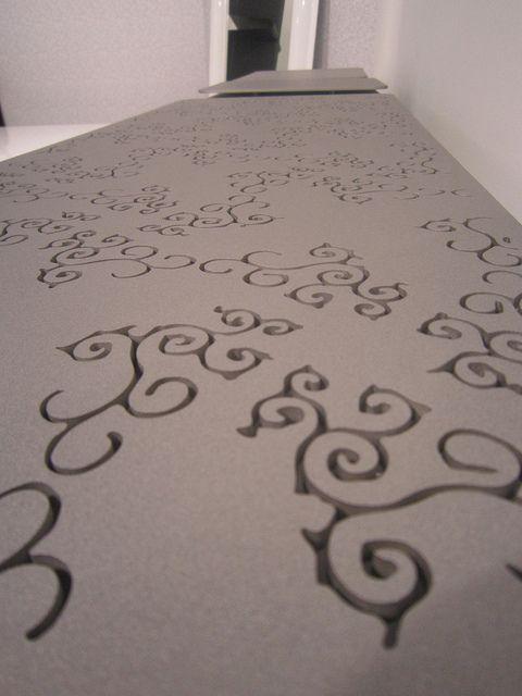 #brera bookcase anodized and laser cut finishing, design by Marco Piva for altreforme, #district collection at Salone del Mobile 2011 #interior #home #decor #homedecor #furniture #aluminium