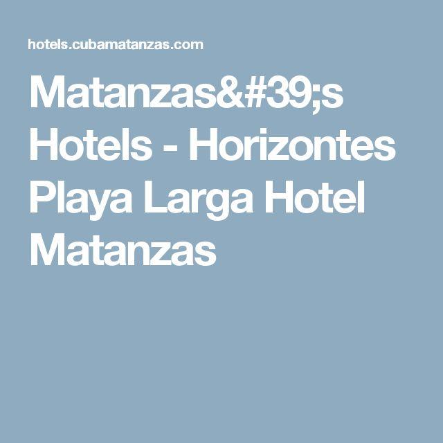 Matanzas's Hotels - Horizontes Playa Larga Hotel Matanzas