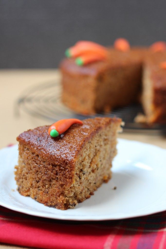 Cinnamon Carrot Cake - A sinfully delicious and moist carrot cake.