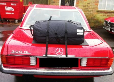 Mercedes Benz SL R109 Boot Luggage Rack