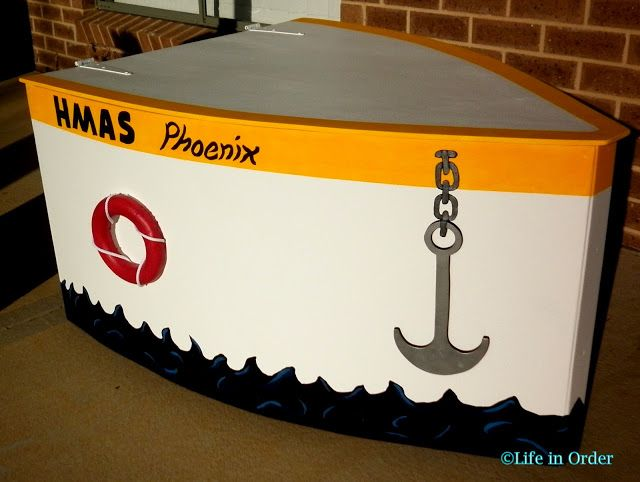 Life in Order: Boys Toy Box: Boat Theme