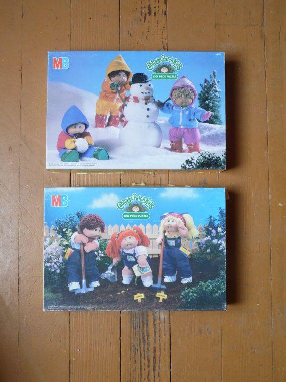 Cabbage Patch Kids Puzzle/Cabbage Patch by OldSteamerTrunkJunk