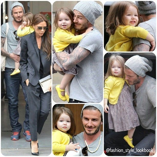 DAVID celebrates his 38th birthday with HARPER & VICTORIA#victoriabeckham #davidbeckham #harperbeckham #louisvuitton #gucci #burberry #dress #christianlouboutin #marcjacobs #lookbook #fashion #style #styles #fashionista #fashionicon #styleicon #stylish #instafashion #instastyle #celebrity #streetstyle #streetfashion #outfit #blonde #fashionlookbook #instyle #makeup #shoes #heels #bags... - Celebrity Fashion