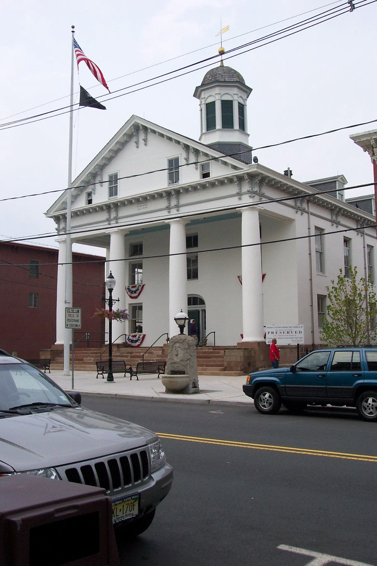 Flemington, NJ Courthouse where the Lindbergh Baby kidnapping trial took place in 1932. July 2004