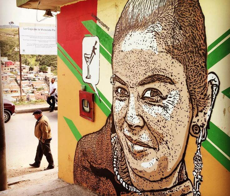 "DjLu / Juegasiempre, ""La Punky"" in Caracolí, Bolivar, Colombia, 2017"