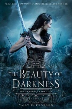 The beauty of darkness by Mary E. Pearson ---- Princess Lia and her love, Rafe, have escaped Venda and the path before them is winding and dangerous. (7/16)