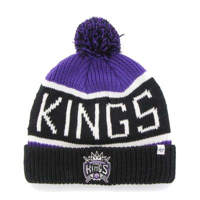 '47 Sacramento Kings Purple Calgary Cuffed Knit Hat