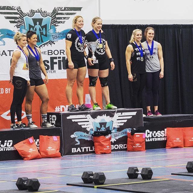 Team quadzilla takes 1st at the battle on the border. That's what happens when you wear a WOD shirt, you win.