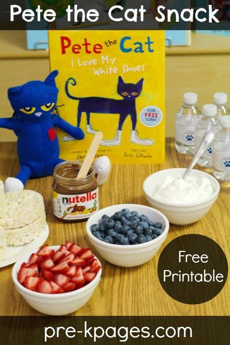 Where Is Pete The Cat Preschool Cooking ActivitiesPreschool