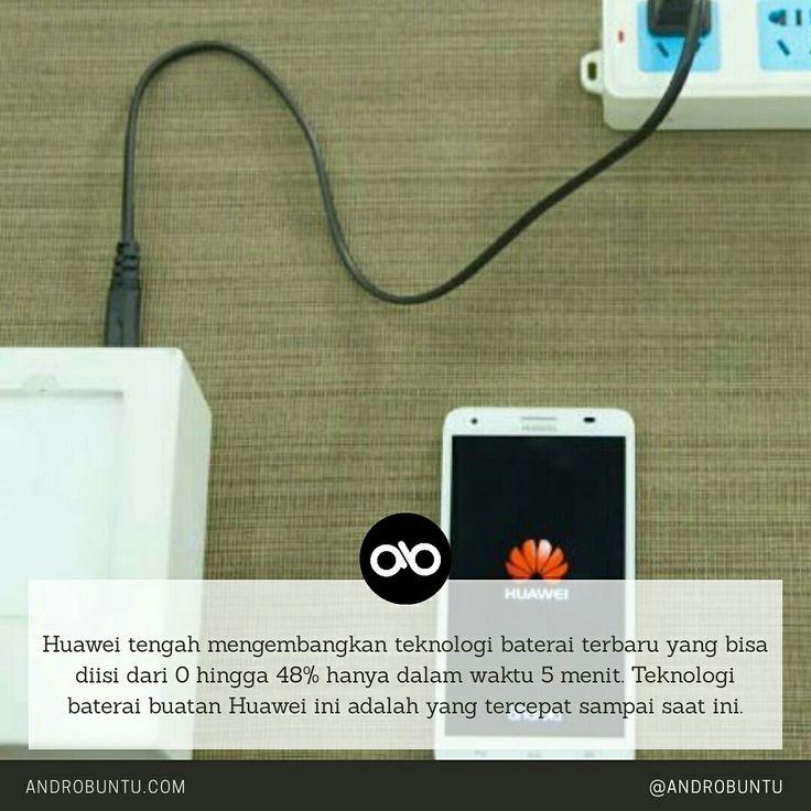 Teknologi baterai terbaru buatan Huawei ini bisa jadi solusi untuk smartphone masa kini. Androbuntu.com