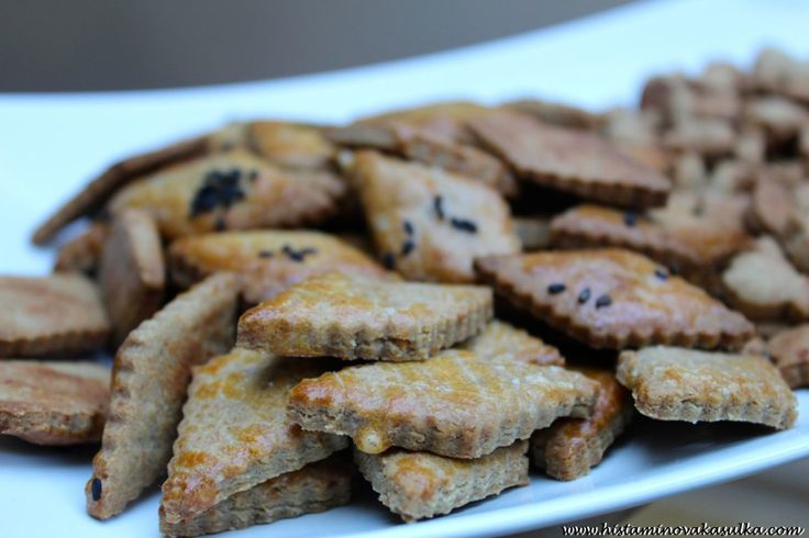 Slané kaštanové sušenky z protizánětlivých mouk