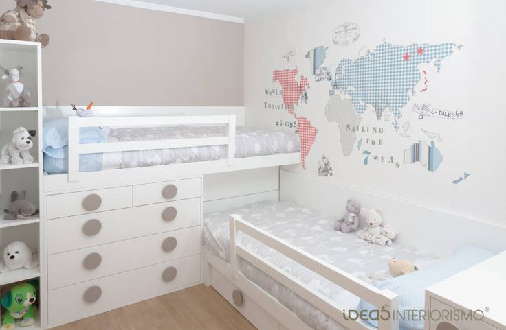 Habitación infantil Nacho y Carlos (de Ideas Interiorismo Exclusivo, SLU)