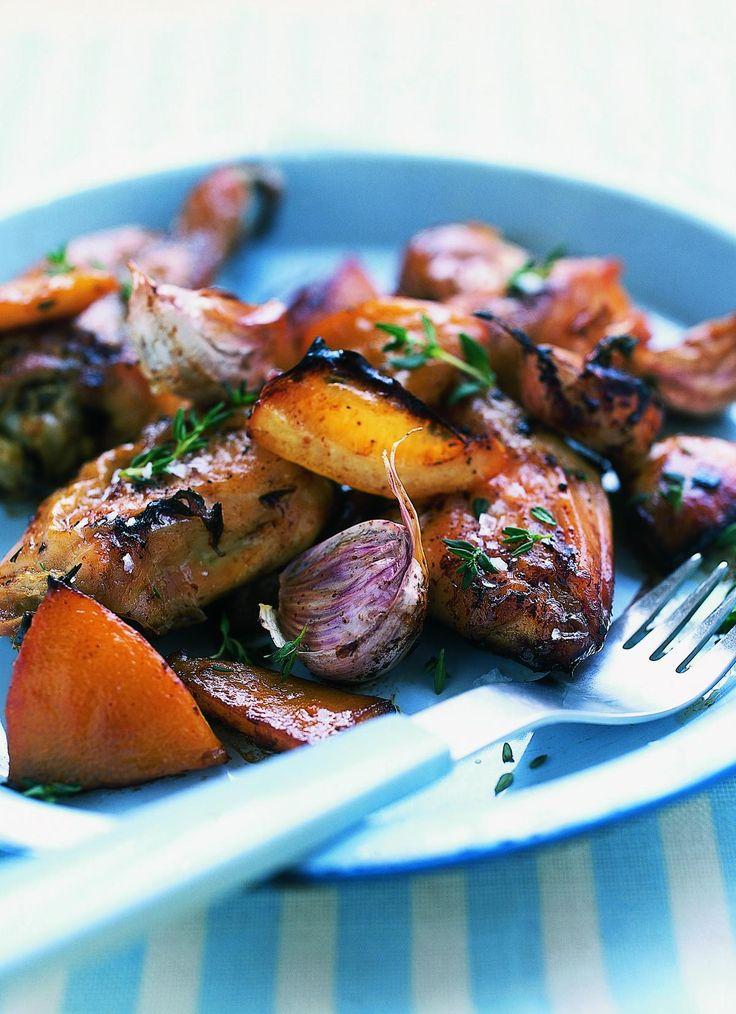 Nigella Lawson's Slow-Roasted Garlic and Lemon Chicken - The Happy Foodie
