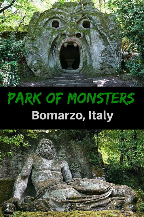 Park of Monsters Viterbo Italy