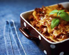 Lasagne aux cuisses de canard confites