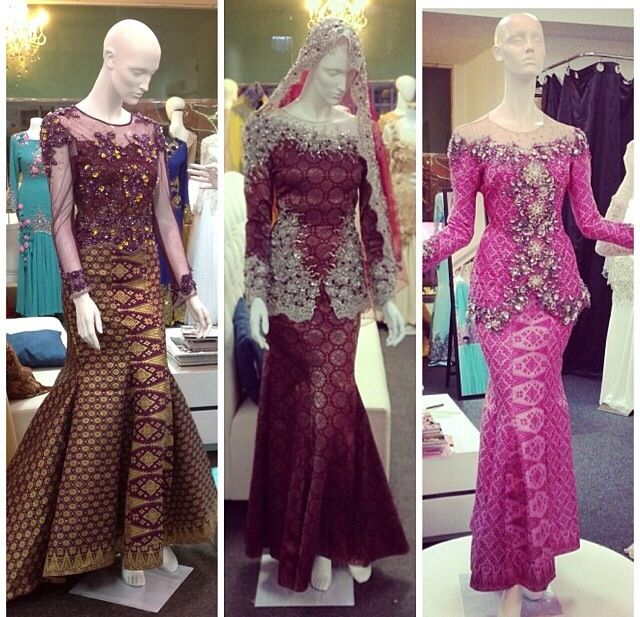songket dress style