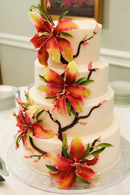 tiger lily wedding cake 25 best ideas about stargazer lilies on tiger 21004