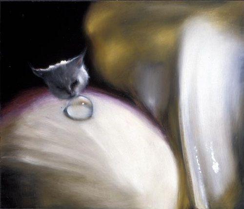 Louise Hearman  Untitled #991, 2003  oil on masonite  61 × 71cm