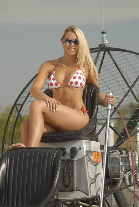 Ebay Boats Florida >> airboat girl | Airboats | Pinterest | Girls