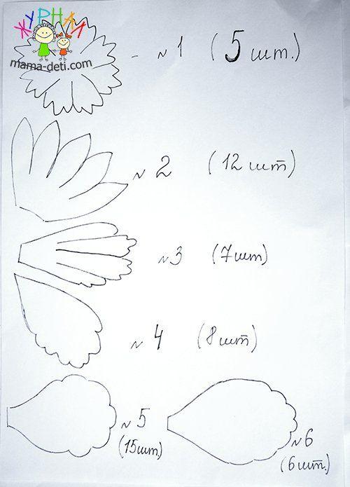 Пион из фоамирана своими руками | Цветы из фоамирана мастер классы