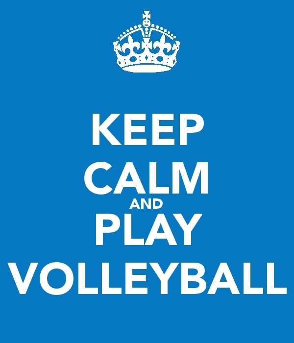 Plays Volleyball, Life, Volleyball Stuff, Calm Things, Volleyball Quotes, Keep Calm, Living, Volleybal Fees, Plays Forever